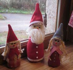 Lutins de Noël       Patron sur blog