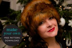 Make your own Zhivago-inspired fur hat: FREE pattern download
