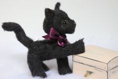 Shop for teddy bear lovers by SoftspotDesign Knitted Animals, Fiber Art, Cats And Kittens, Etsy Seller, Plush, Teddy Bear, Group, Knitting, Handmade Gifts