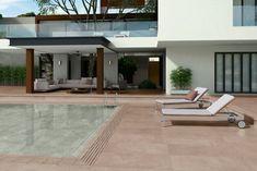Swimming Pool Designs, Swimming Pools, 4x4, Sweet Home Design, Getaway Cabins, Sun Lounger, Pergola, New Homes, Backyard