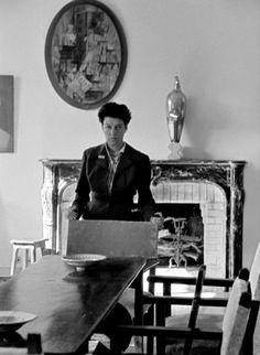 Peggy Guggenheim by Nino Migliori, 1958