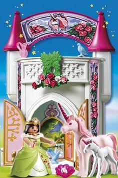 unicorn tower to go   PLAYMOBIL Einhorntürmchen zum Mitnehmen 4777