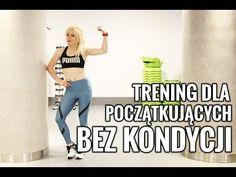 Trening dla POCZĄTKUJĄCYCH, BEZ KONDYCJI 2 | Codziennie Fit - YouTube Belly Pooch, Ga In, Summer Body, Loose Weight, Aerobics, Zumba, Fitness Inspiration, Bodybuilding, How To Look Better