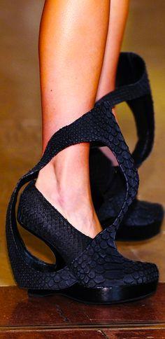 Steffie Christiaens crazy shoes - so crazy i could not resist including them