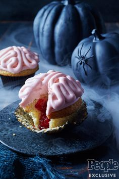 The pastry chef at Little Dom's in Los Angeles stuffs a surprise inside her eerie treats