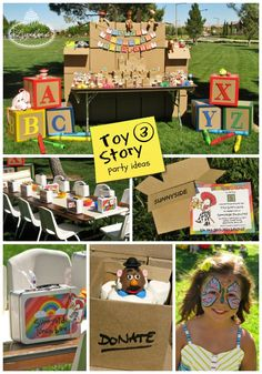 Toy Story 3 party ideas ~ Lynlee's