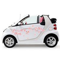 Sticker voiture branches fleuries - cherry blossom 2
