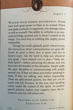 """Good morning  These words are so true ~ """"Speak Life"""" ~"""
