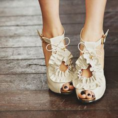 wedding day shoes?