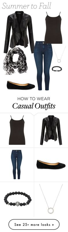 """""""Casual"""" by bexs205 on Polyvore featuring Miss Selfridge, J Brand, Calvin Klein, Madden Girl, Dorothy Perkins and Tiffany & Co."""