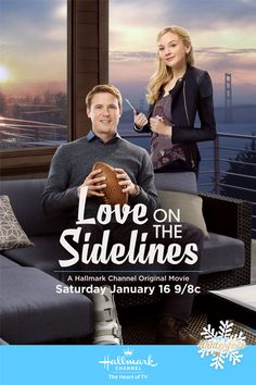 "Its a Wonderful Movie - Your Guide to Family Movies on TV: Hallmark Channel Tackles a Football Movie ""Love on the Sidelines"""