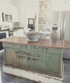 Kitchen island ideas rustic farmhouse 49+ ideas for 2019