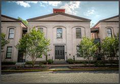 Calhoun Square in Savannah Georgia
