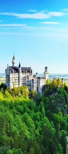 Neuschwanstein Castle in Summer, Fussen, Bavaria, Germany    |   Top 10 Most Visited Countries in the World in 2014- #LadyLuxuryDesigns