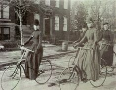 """Let me tell you what I think of bicycling. I think it has done more to emancipate women than anything else in the world. It gives women a feeling of freedom and self-reliance. I stand and rejoice every time I see a woman ride by on a wheel…the picture of free, untrammeled womanhood."" Suffragette Susan B. Anthony, 1896"