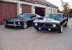 Classic Mustang or Camaro? - Gear Heads