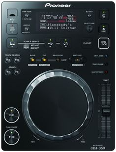 Pioneer DJ CD player black from japan Design Studio Office, Recording Studio Design, Home Studio Music, House Music, Vinyl Music, Vinyl Records, Usb, Pioneer Dj, Cdj Pioneer