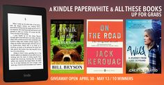WIN A KINDLE PAPERWHITE & CLASSIC TRAVEL BOOKS!