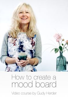 The video online course on How To Create A Well Structured Mood Board is here!! #moodboard #moodboardvideocourse