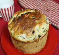 Homemade Panettone / Italian Christmas Sweet Bread (Fruit Bread)