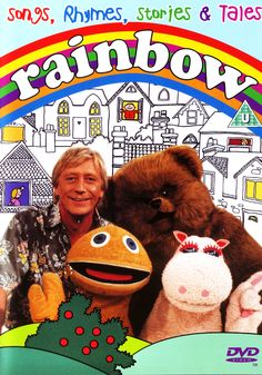 Rainbow - lunchtime kids' TV show that started in 1972 and lasted for 20 years - Geoffrey, Bungle, Zippy and George