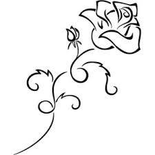 """Résultat de recherche d'images pour """"dessin tatouage roses tribal"""""""