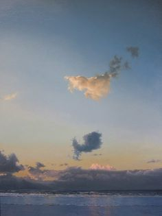 Little Evening Cloud by Janhendrik Dolsma, oil on panel.