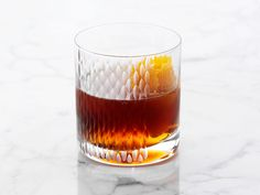 Classic Manhattan Cocktail recipe from Ted Allen via Food Network