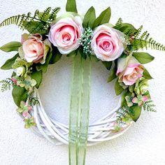 Summer Wreath, Floral Wreath, Wreaths, Home Decor, Floral Crown, Decoration Home, Door Wreaths, Room Decor, Deco Mesh Wreaths