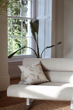 ren london linen cushion