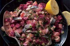 Ćervená řepa 14x jinak | Apetitonline.cz Vegetable Recipes, Ham, Potato Salad, Food And Drink, Low Carb, Lunch, Beef, Chicken, Vegetables