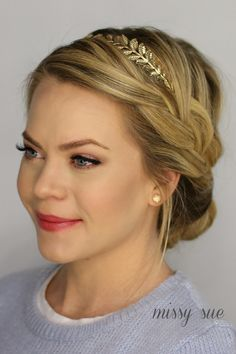French Braid Updo | Missy Sue | Bloglovin'