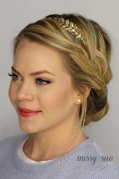 French Braid Updo | Missy Sue | Bloglovin'