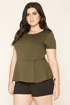 15bb71f5531 9 Best peplum tops for plus size images