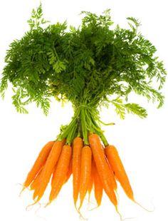 Diureticos para bajar de peso: la zanahoria