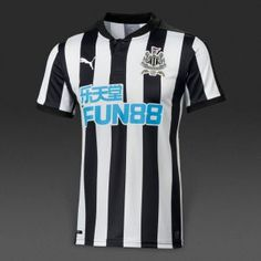 6b25cde399 Newcastle United Home Shirt 2017 18. Premier League Teams