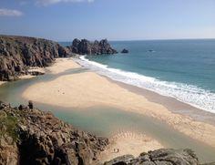 Pedny' Beach, Treen, Cornwall