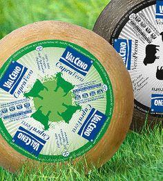 Col packaging per comunicare i custodi di un territorio. Studio ha creato chiare etichette dalla raffinata estetica che parlano di formaggi prodotti con il latte che viene dalla sola provincia di Parma, con tecniche naturali senza aggiunta di conservanti. Sono le caciotte Valceno di latte di capra, pecora, mucca, misti, freschi e stagionati. CapraVera, NeroPecora e Trilatte sono i loro nomi.