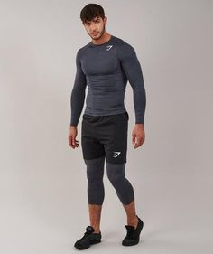 Look no further for the perfect baselayer collection. Lightweight, breathable soft stretch fabric ensures a second-skin feel that is close, yet still incredibly Athletic Outfits, Sport Outfits, Gym Outfits, Base Layer Clothing, Boy Fashion, Mens Fashion, Figure Poses, Gym Style, Work Looks