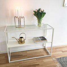 Golden quartet candelabra / be&liv / Photo by Diy Interior, Candelabra, Minimalist Design, Traditional, Instagram Posts, Furniture, Home Decor, Minimal Design, Decoration Home