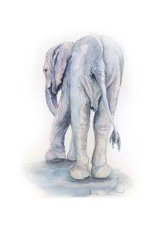 d613bb4dba123 The David Sheldrick Wildlife Trust - Art Store Elephant Love