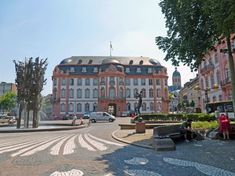 Mainz Germany, Wonderful Places, Strand, Maine, Street View, Mansions, House Styles, Travel, Spiegel Online