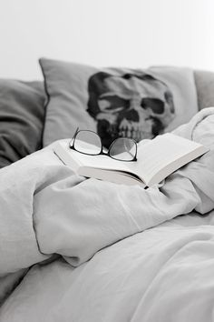 Anatomical Skull Pillow make your space look bad-ass Decor Interior Design, Interior Decorating, Skull Pillow, Living Room Decor, Bedroom Decor, Design Palette, Grey Houses, Blog Love, Perfect Pillow