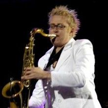 Abbey Artico - solo featured saxophonist at Starlight NPO Concert