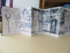 concertina sketchbook - Google Search