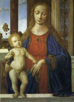 Italian Renaissance, Renaissance Art, Italian Sculptors, Renaissance Paintings, Marc Chagall, Italian Painters, Madonna And Child, John The Baptist, Art Database