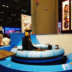 #Experience the #magic and thrill of #spacerace ! A virtual reality #ride at booth #1378 at #IAE16 #IAAPA ! #IAAPA2016 #exhibition #technology #innovation #orlando #awesome #funny #perfect #polinwaterparks
