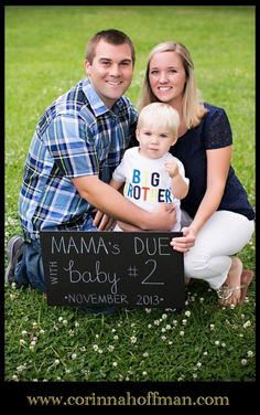 www.corinnahoffman.com - Baby Announcement - Big Brother - Jacksonville Florida Family Photographer