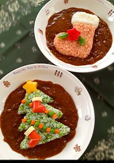 X'mas tree curry