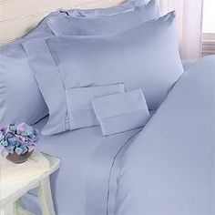 Rayon from BAMBOO4 (FOUR) Piece LUXURIOUS 1500 Thread Count CAL KING 106X90  Size Goose Down Alternative Comforter SET, BLUE SolidColor, 1500 TC - 750FP - 50Oz. Egyptian Cotton Factory Outlet Store http://www.amazon.com/dp/B009XF52G0/ref=cm_sw_r_pi_dp_DcY9ub1NKMBA5